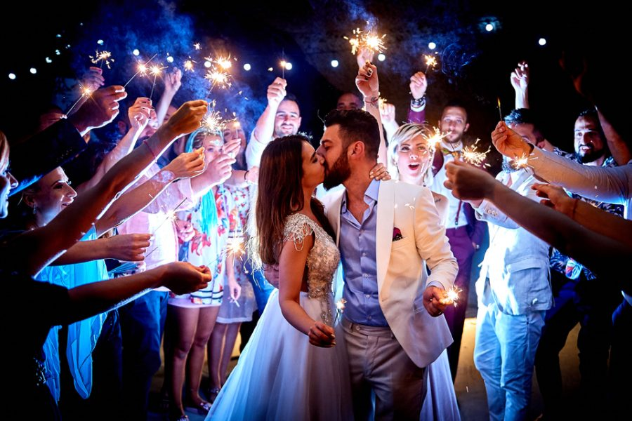 wedding party in greece